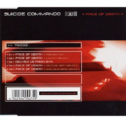 Suicide Commando - Face Of Death - Single CD
